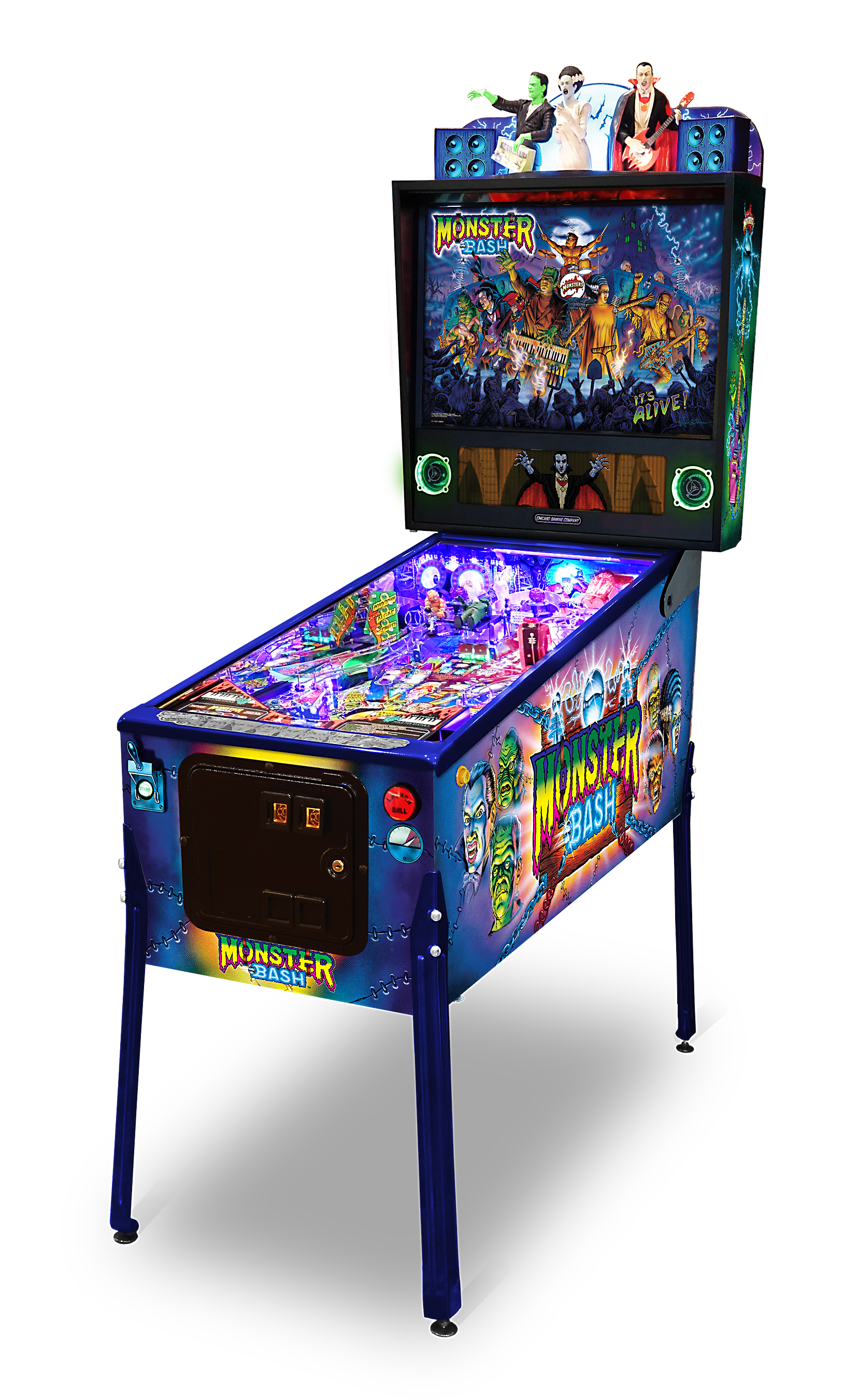 Monster Bash Remake Pinball Machines for sale | Limited