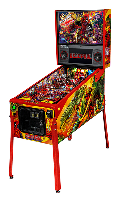 Deadpool Pinball Machines for sale | Limited, Premium, Pro
