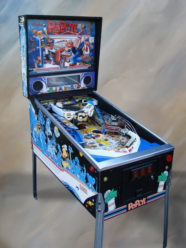 Used Arcade Games Sale : Used pinball machines for sale and our arcade game inventory