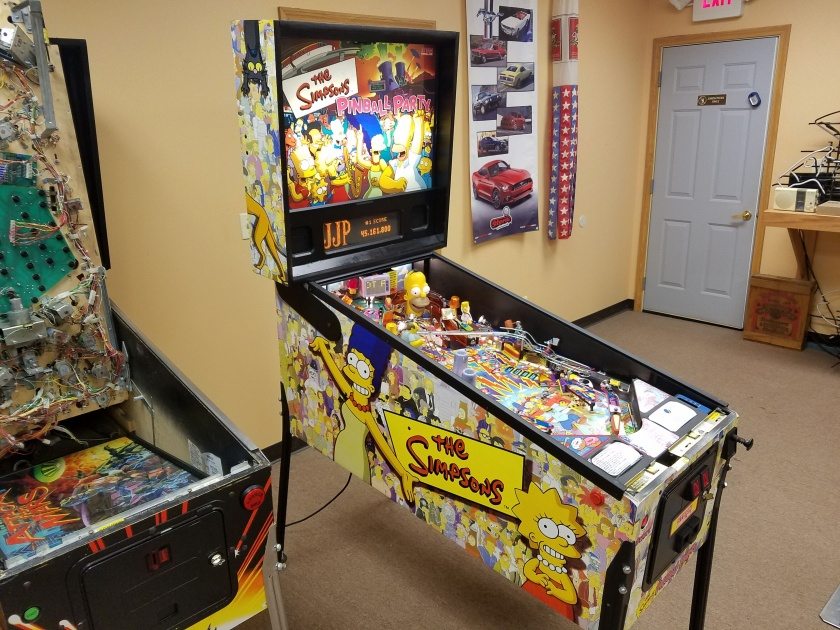 The Simpsons Pinball Party 2003 Stern | Used pinball for sale!