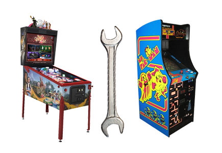 Pinball and Arcade Game Service and Repair